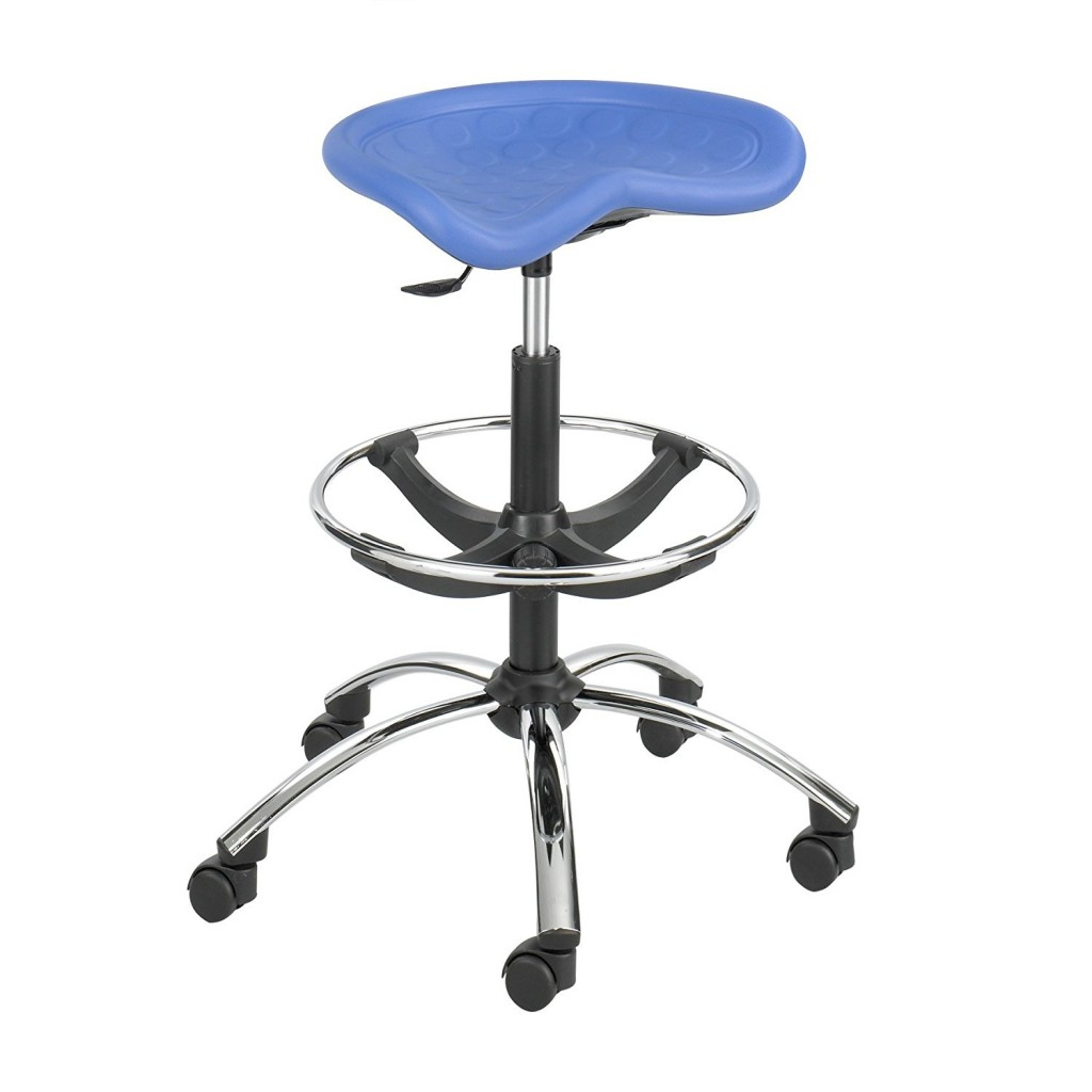 Safco Products 6660BU SitStar Stool Chrome Base