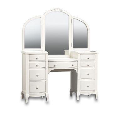 White Vanities for Bedrooms