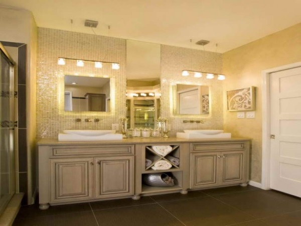 8 Light Bathroom Vanity Light