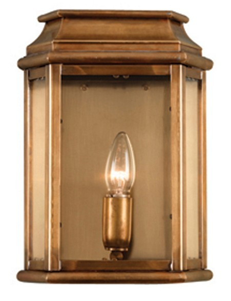Antique Solid Brass Outdoor Light