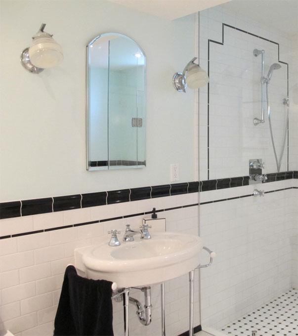 Art Deco Bathroom Lighting Decor Ideasdecor Ideas