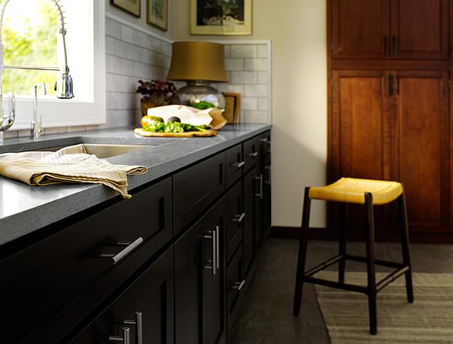 Black Kitchen Cabinets Photos