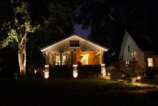 Brass Landscape Lighting