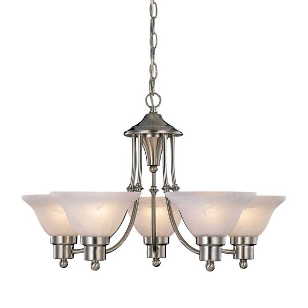 Brushed Nickel Kitchen Lighting