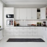 Contemporary White Kitchen Cabinets