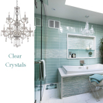 Crystal Bathroom Lighting Fixtures
