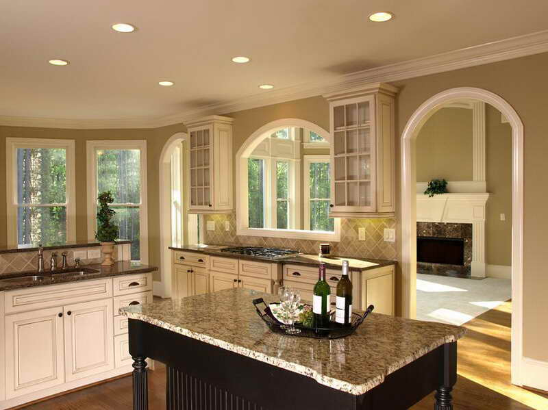 Glazing White Kitchen Cabinets