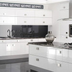 High Gloss White Kitchen Cabinets