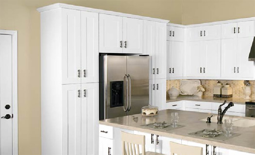Home Depot White Kitchen Cabinets