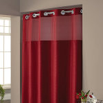 Hookless Vinyl Shower Curtain
