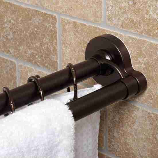 Oil Rubbed Bronze Shower Curtain Rod Decor Ideasdecor Ideas