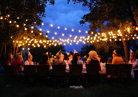 Outdoor Fairy Lights