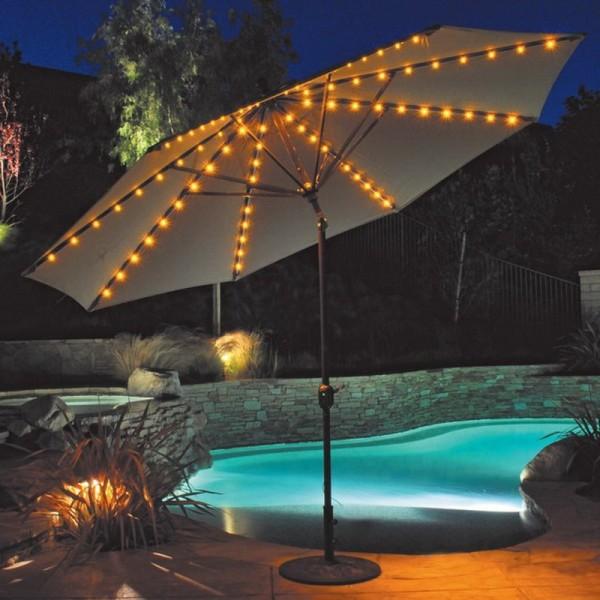 Outdoor Umbrella Lights
