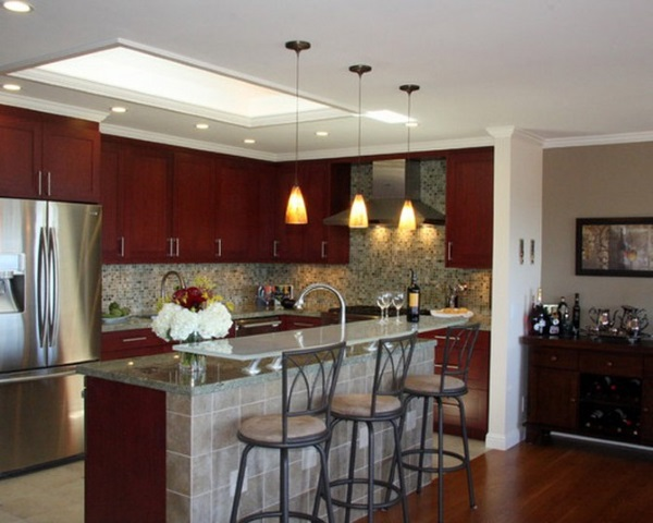 Overhead Kitchen Lighting Ideas