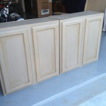 Painting Unfinished Kitchen Cabinets