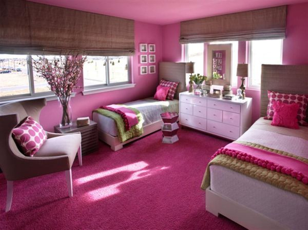 Pink Girls Bedroom Ideas