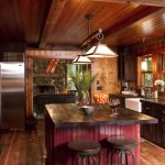 Rustic Kitchen Island Lighting