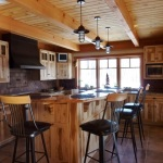 Rustic Pendant Kitchen Lighting