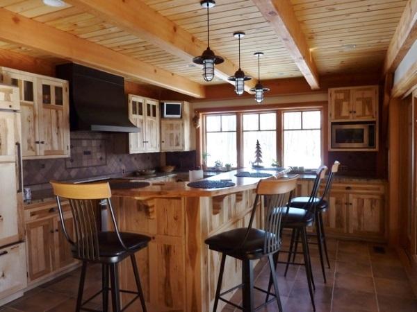 Rustic Pendant Kitchen Lighting