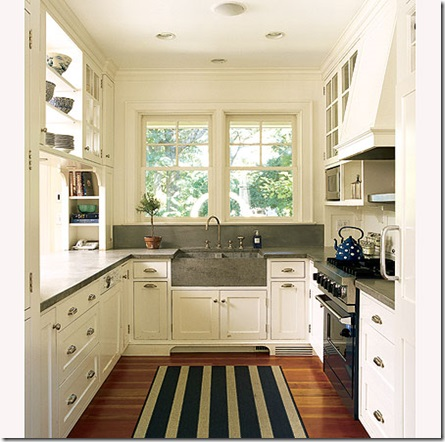 Small Kitchens with White Cabinets