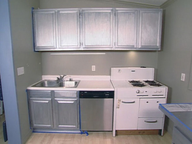 White Metal Kitchen Cabinets