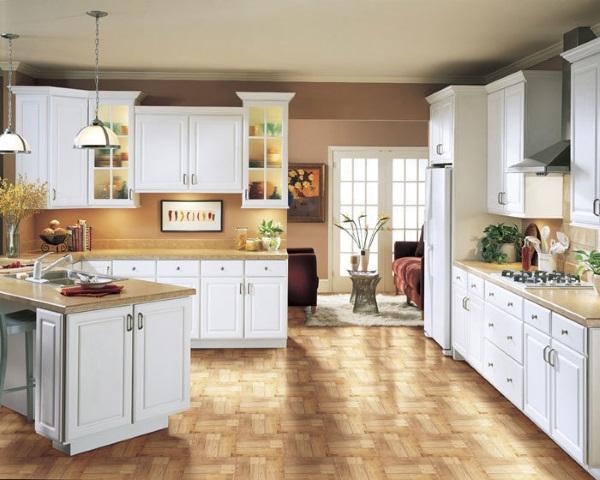 White Thermofoil Kitchen Cabinets Decor Ideasdecor Ideas