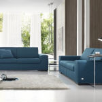 Blue Contemporary Sofas London
