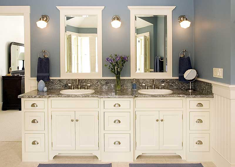 Custom Bathroom Vanity Cabinets