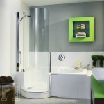 Deep Bathtub Shower Combo