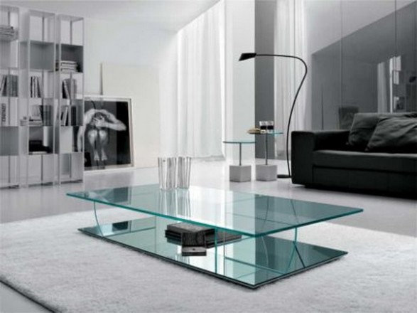 Glass Living Room Tables
