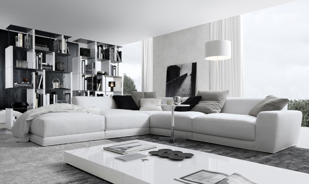 Italian Contemporary Sofa