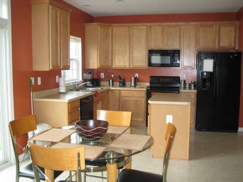 Kitchen Paint Color Ideas with OAK Cabinets - Decor Ideas