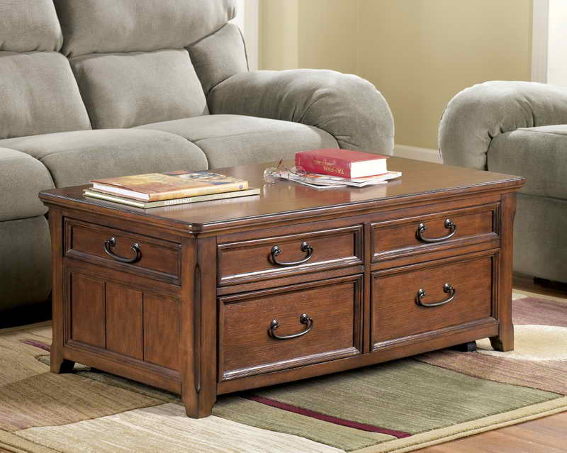 Living Room End Tables with Storage