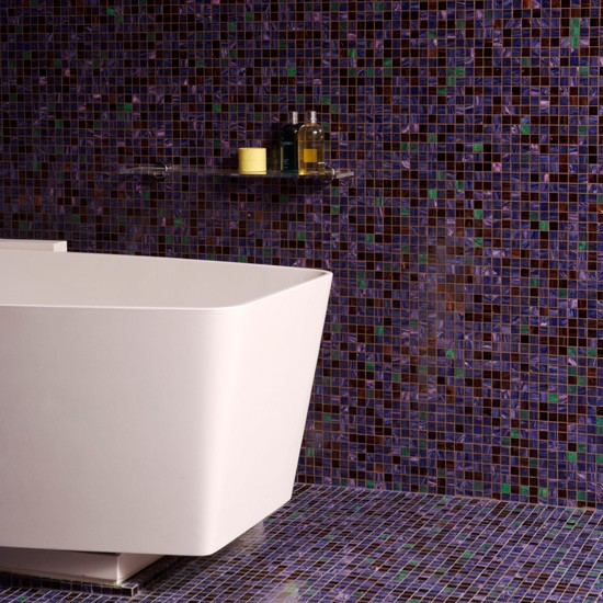 Mosaic Bathroom Floor Tile Ideas