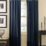 Navy Blue Bedroom Curtains
