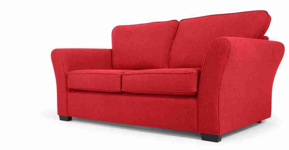 Red 2 Seater Sofa Decor Ideasdecor Ideas