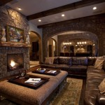 Rustic Living Room Design