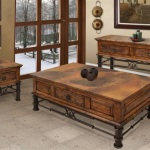 Rustic Living Room Tables