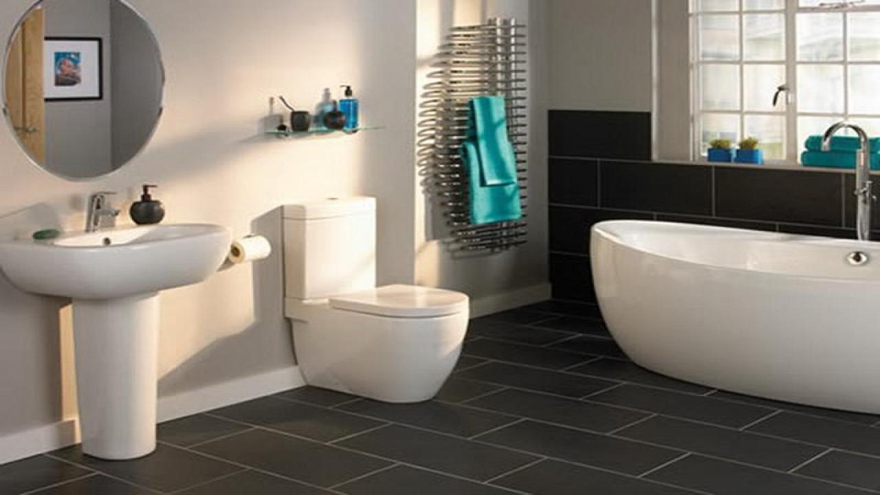 Slate Bathroom Floor Tiles Decor Ideasdecor Ideas