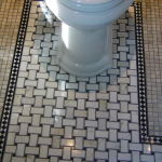 Vintage Bathroom Floor Tile