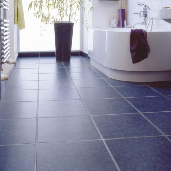 Vinyl Bathroom Floor Tiles