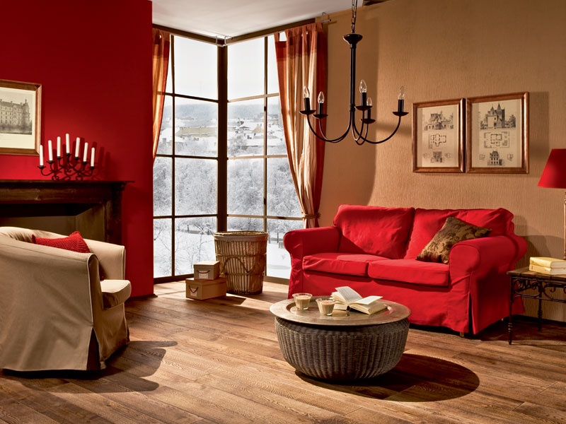 Warm Living Room Colors Photos