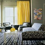 Yellow Bedroom Curtains