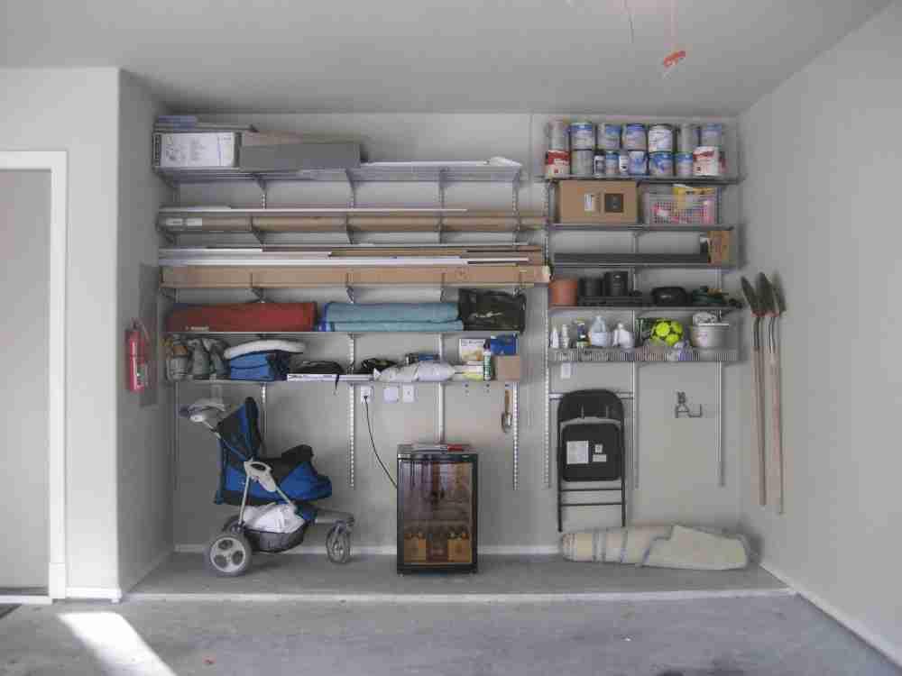 Adjustable Garage Shelving