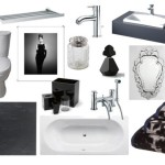 Black and White Bathroom Accessories