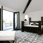 Black and White Bedroom Decorations