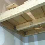 DIY Heavy Duty Garage Shelves