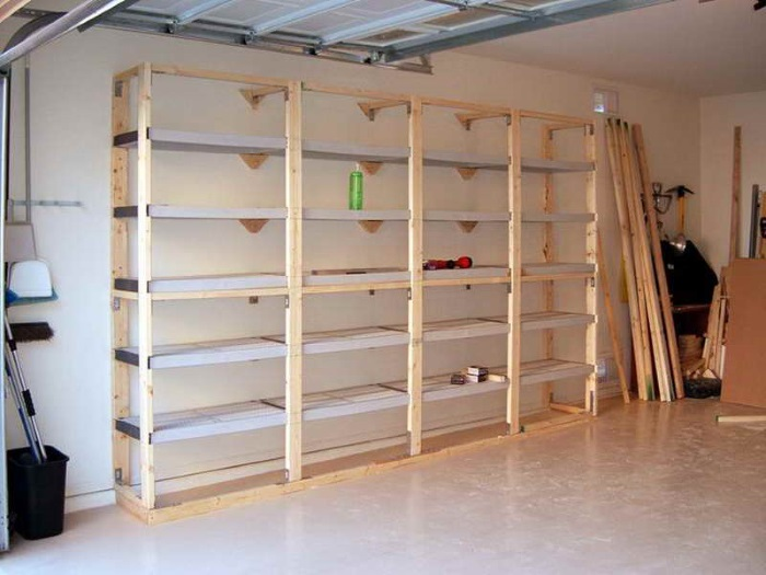 Garage Shelving Ideas