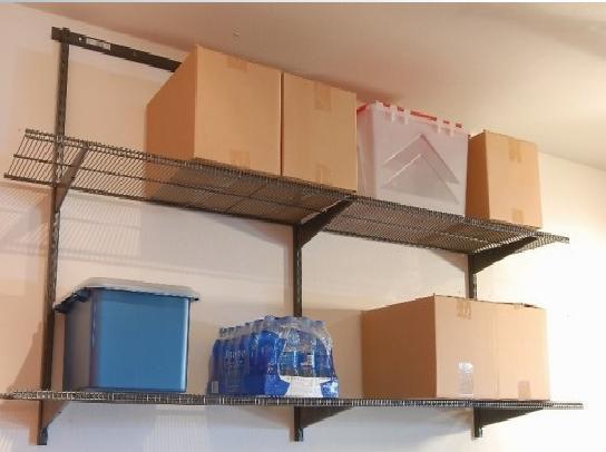 Garage wall mounted shelving decor ideasdecor ideas - Wall mounted shelving ideas ...