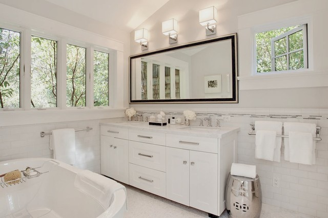 Houzz White Bathrooms